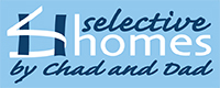 Website for Selective Homes by Chad & Dad