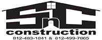 Website for S-N-C Construction, LLC