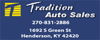 Website for Tradition Auto Sales
