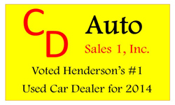 Website for CD Auto Sales I, Inc.