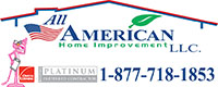 Website for All American Home Improvement, LLC