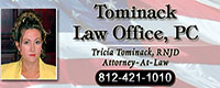 Website for Tominack Law Office, PC