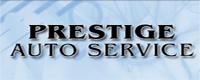 Website for Prestige Auto Service, Inc.