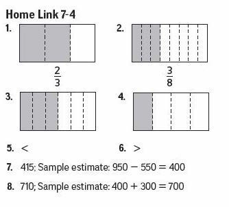 4th grade math worksheets with answer key