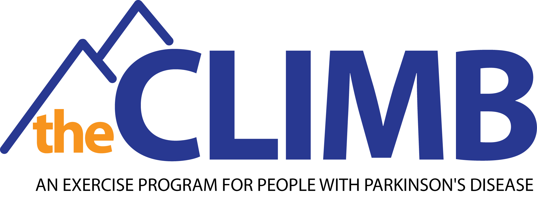 Theclimb logo with text