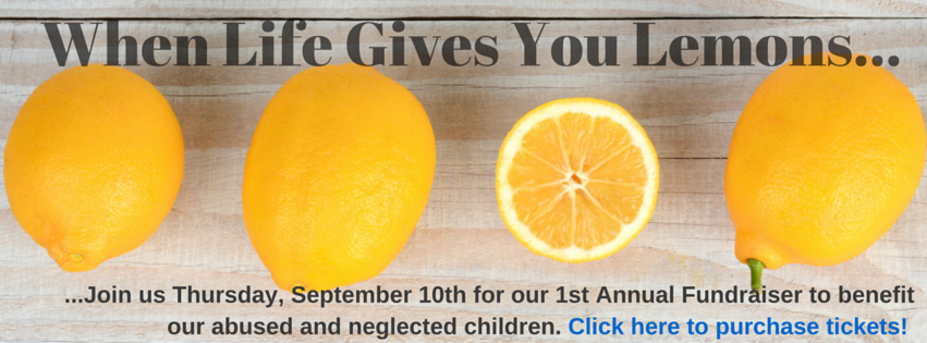 When Life Gives You Lemons Fundraiser