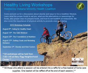 Healthy living workshop series