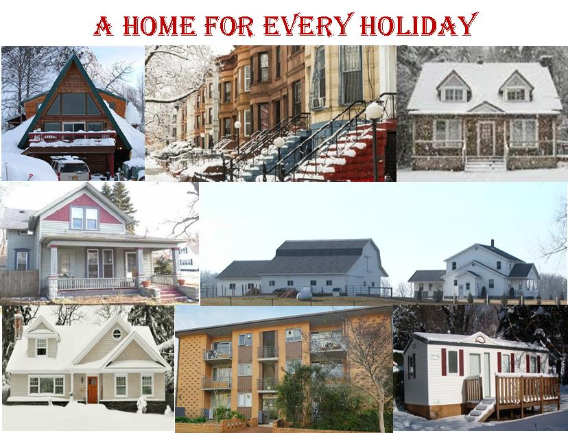 A home for every holiday