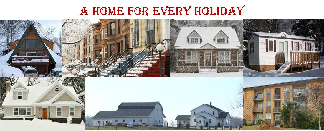 A home for every holiday banner
