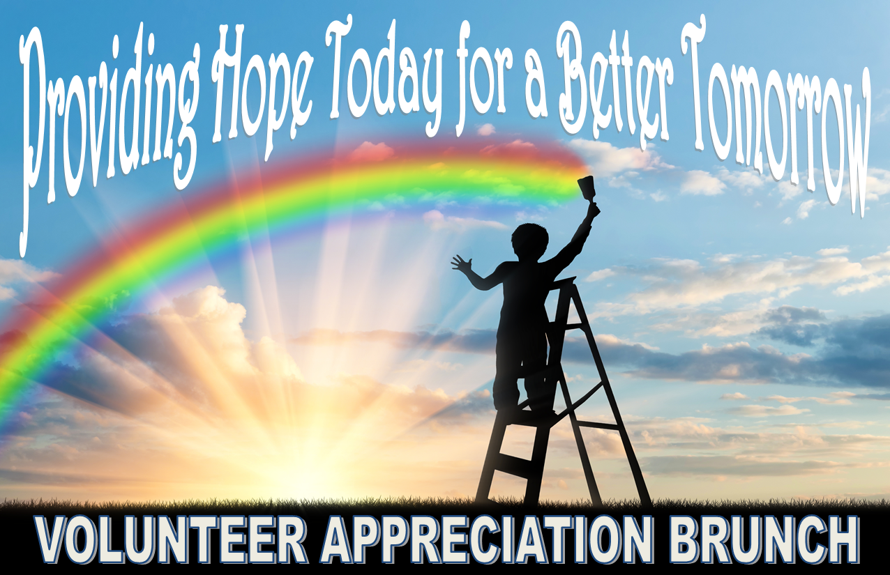 Volunteer appreciation save the date