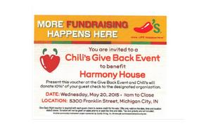 Chili's give back