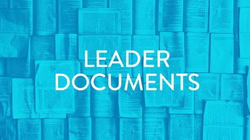 Leader documents
