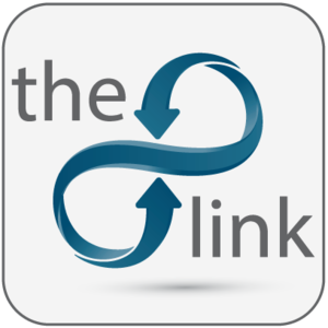 The link logo blue 03