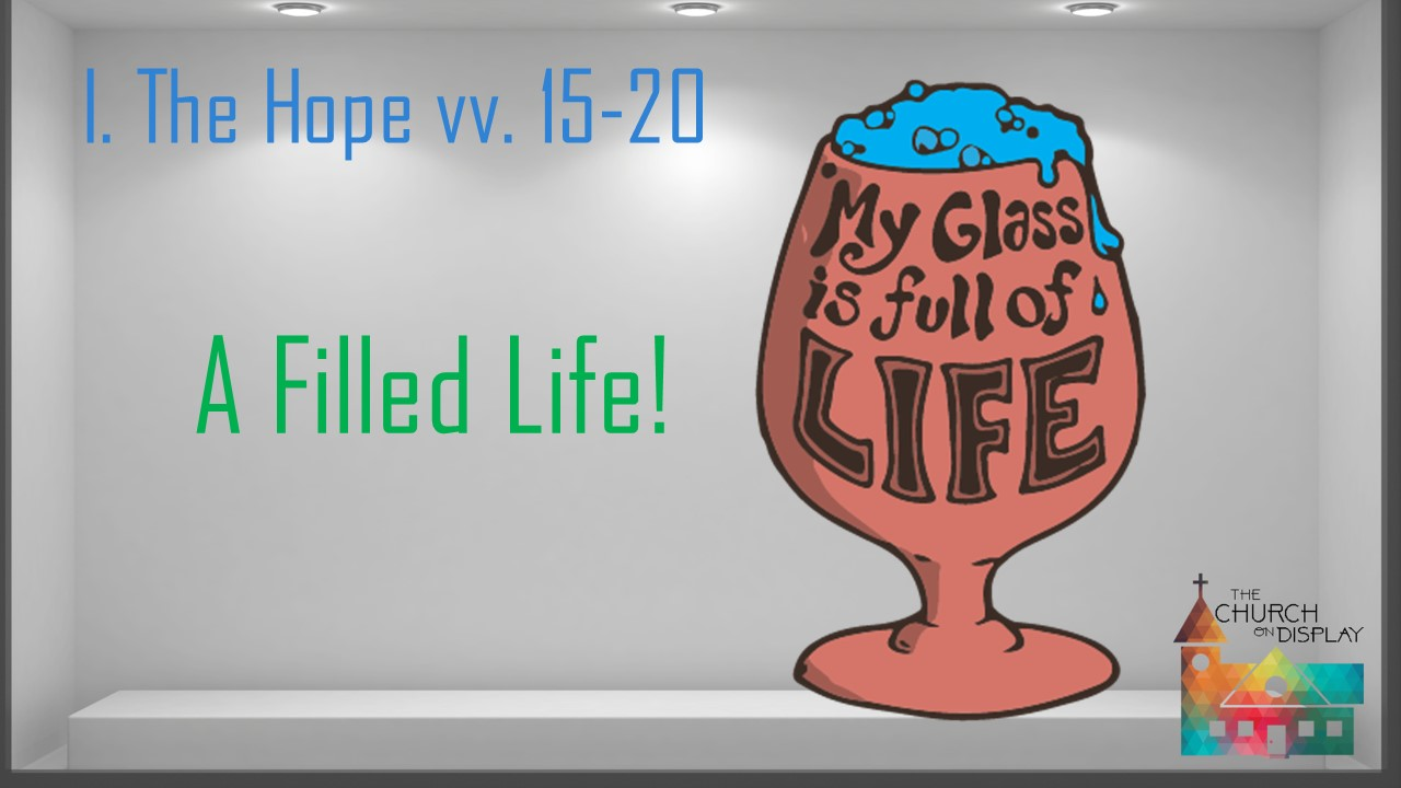 Eph. 5.1 20 when life's no vacation... 6