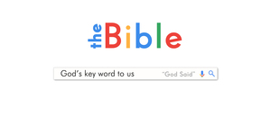Bible the key word banner
