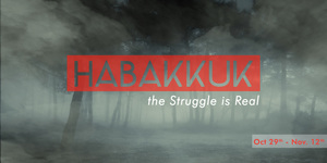 Habakkuk the struggle is real banner