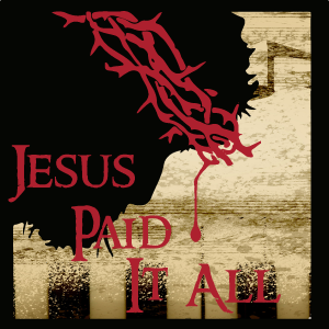 Jesus paid it all hebrews 10.1 18 icon