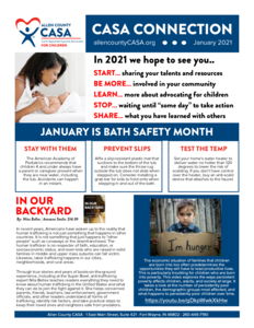 Newsletter jan 2021