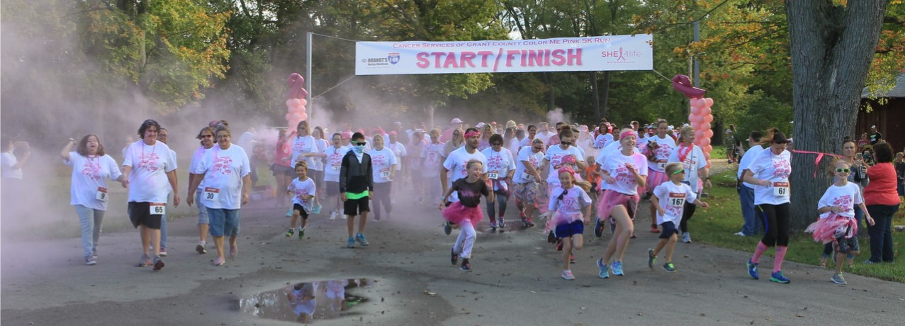 Color Me Pink 5K Run