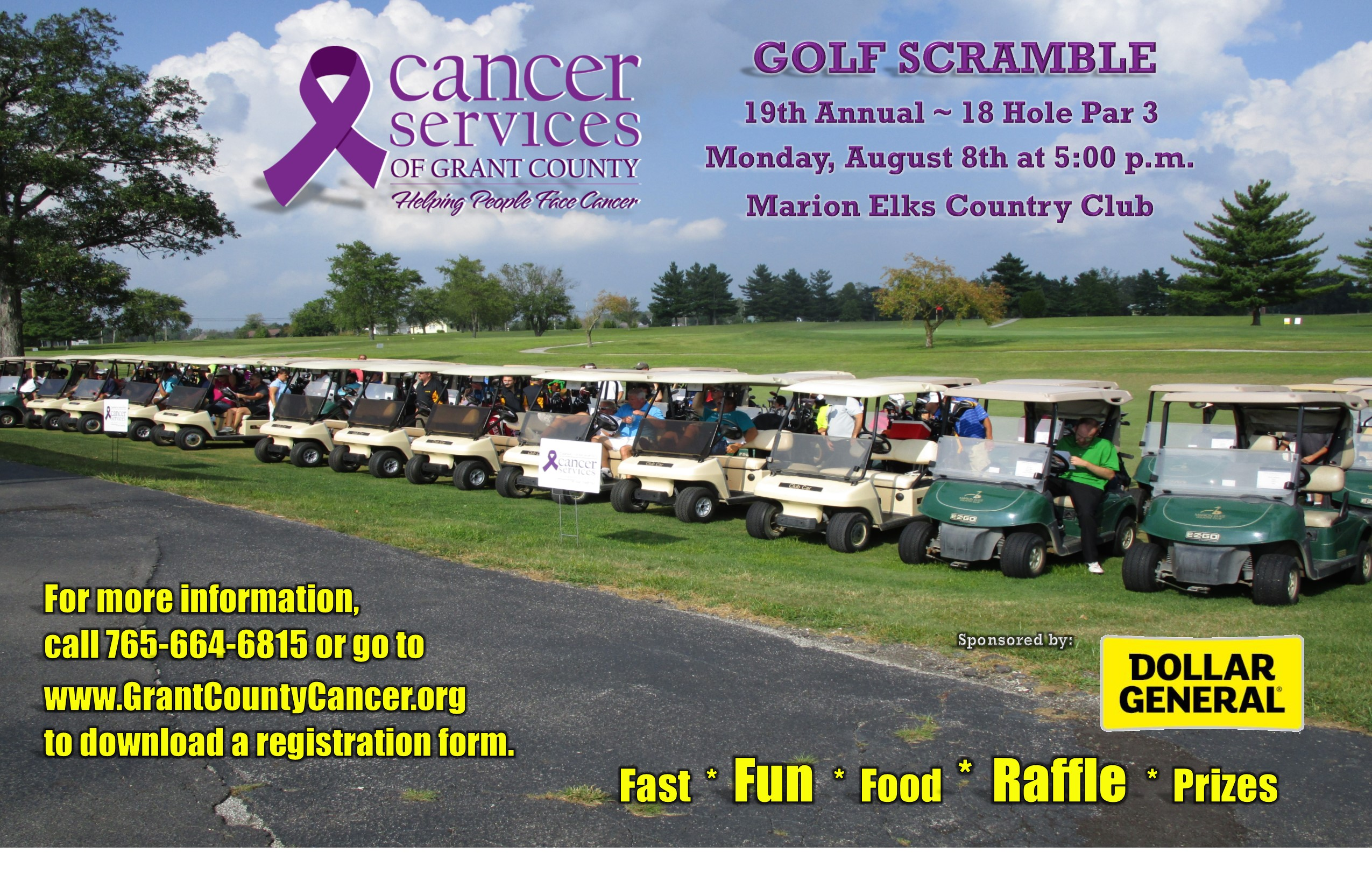 19th Annual Golf Scramble
