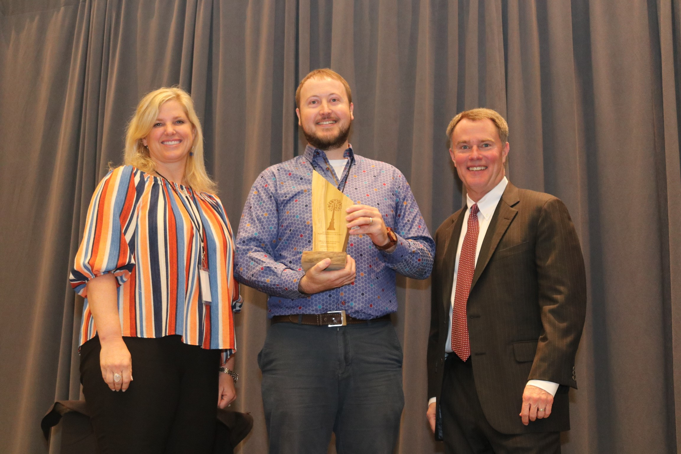 Indianapolis Office of Land Stewardship Receives the Outstanding Institution Advancing Sustainability award