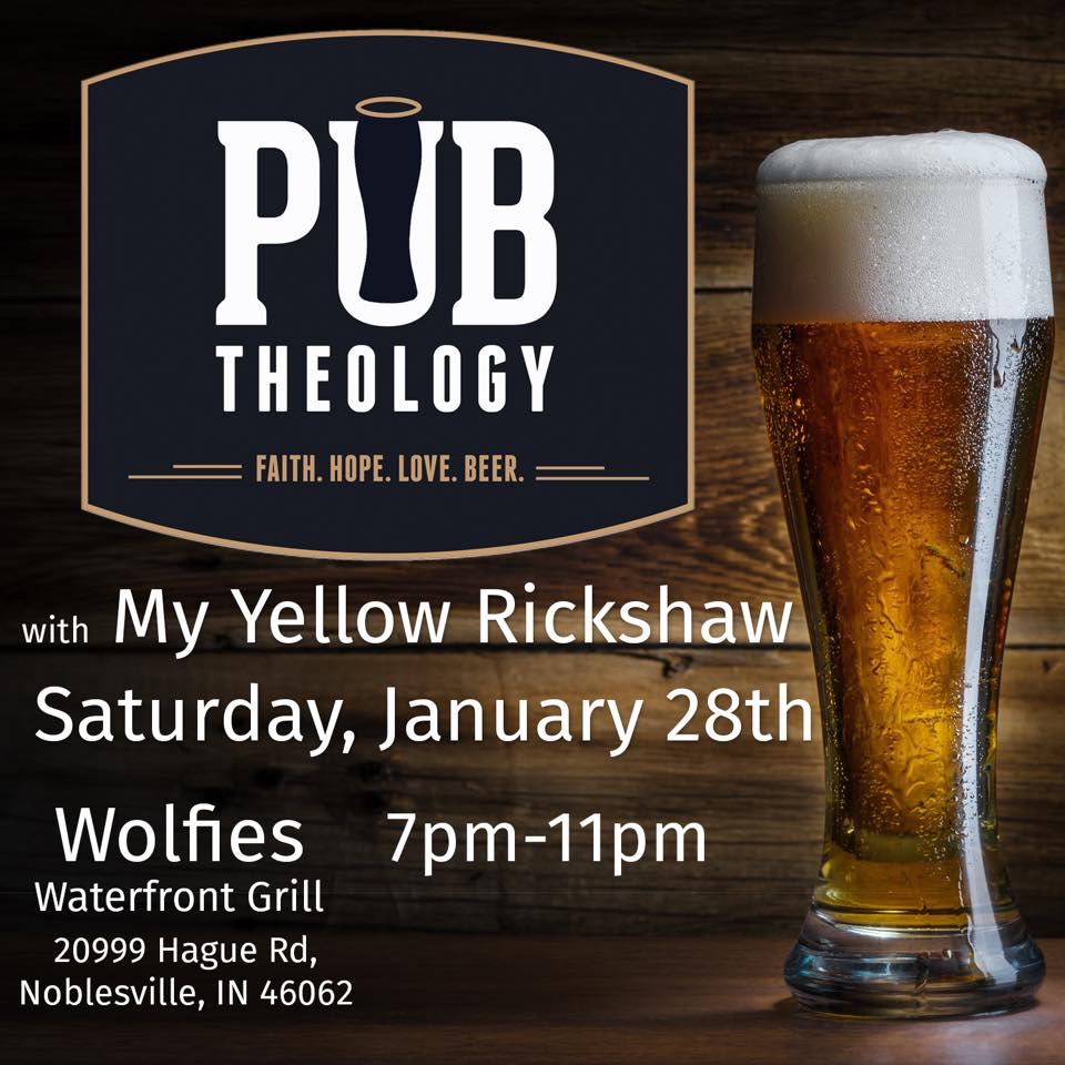 Pub Theology at Wolfie's