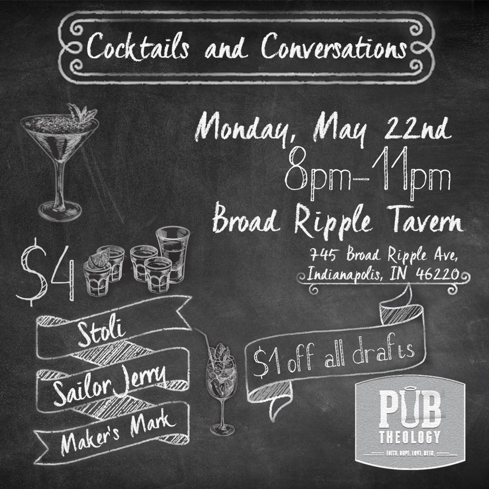 Cocktails and Conversation May 22