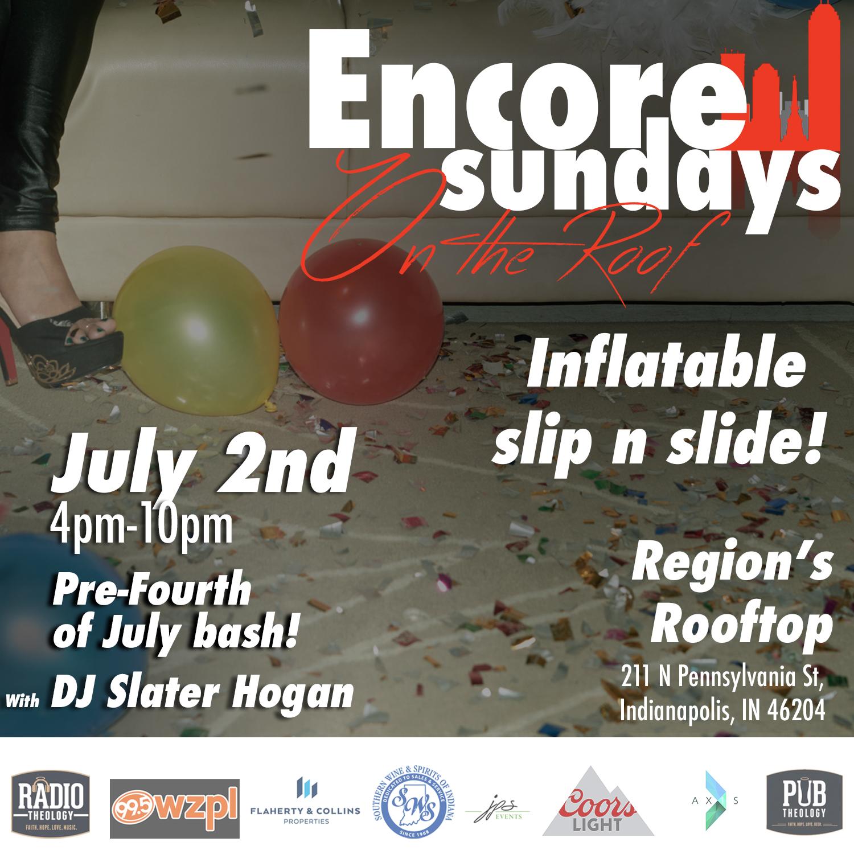 Encore Sunday!