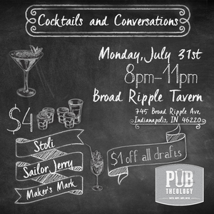 Cocktails and convos july 31st