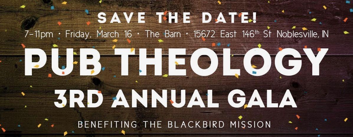 Pub Theology Gala 2018