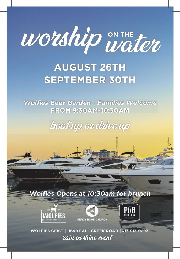 Come Worship on the Water!