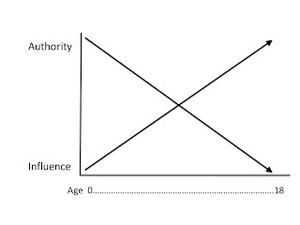 Authority influence diagram
