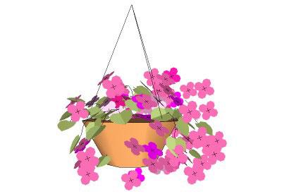 Flower Basket Fundraiser