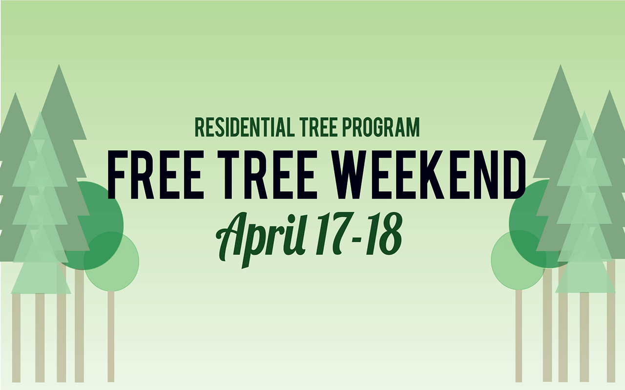 Green Leaf Landscaping is taking part in the Residential Tree Program