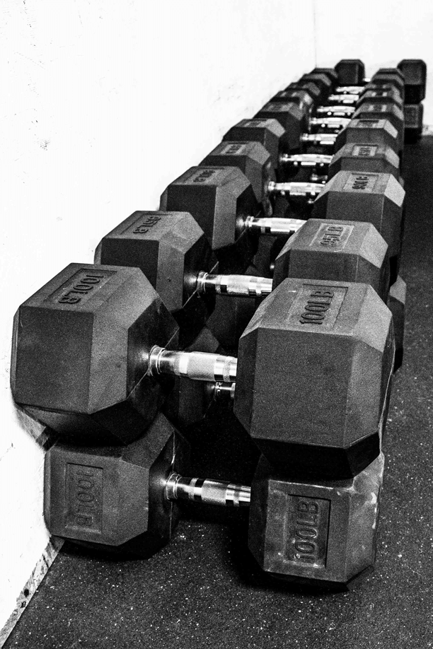 Dumbbell stack min min