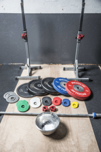 Lift station with weights and chalk min min