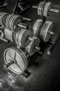 Barbell weights on rack min min