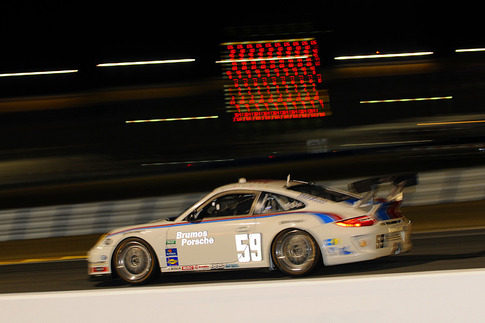 #59 was quick in practice for the 24-hour race.