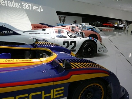 Porsche&#39;s iconic 917 row