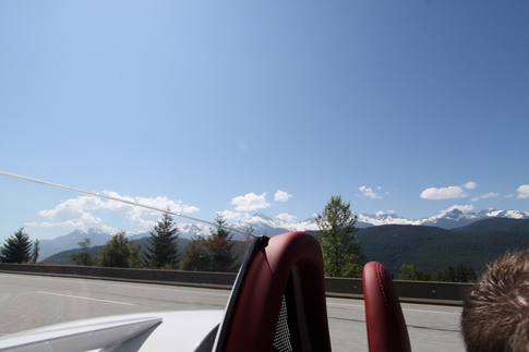 Sea to Sky Highway before Whistler. Photo by Rebekah Stout