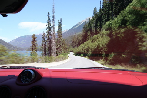 Duffey Lake Road past Whistler is where things get goodsports car heaven good. Photo by Rebekah Stout
