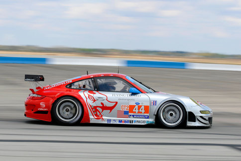 The #44 Darren Law/Seth Neiman GT3 RSR. Photo by Bob Chapman