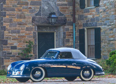 Richard Brumme owns this 1950 356 Cabriolet. It's the oldest known surviving Porsche in North America, although it wasn't originally sold there. Photo courtesy Porsche