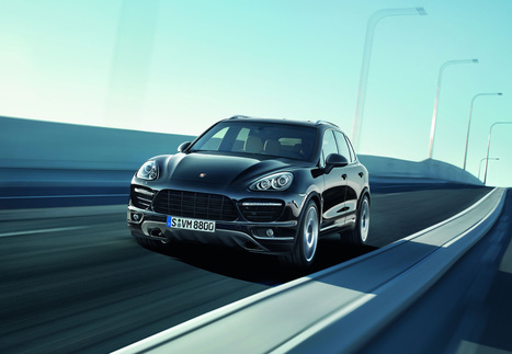 Cayenne. Photo courtesy Porsche