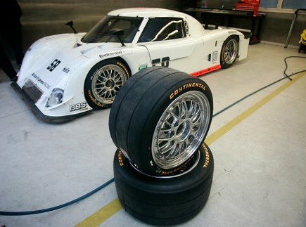 Continental Tire is the new tire supplier for the Rolex Grand-Am Series after three seasons using Pirelli. Photo courtesy Grand-Am
