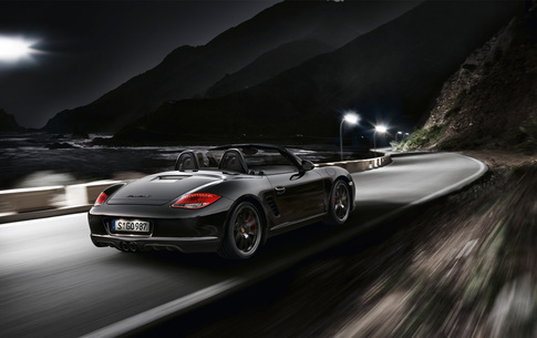 Boxster S Black Edition. Photo courtesy Porsche