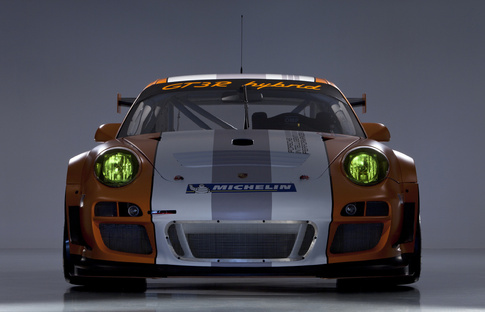 Porsche 911 GT3 R Hybrid version 2.0. Photo courtesy Porsche