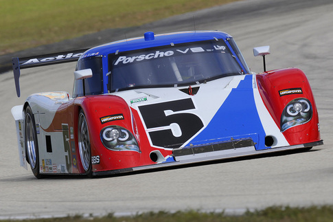 Grand-Am: As a purpose-built race car, the Daytona Prototype's handling characteristics are more predictable than those of Porsche's 911-based race cars. Photo by Bob Chapman/AutosportImage.com