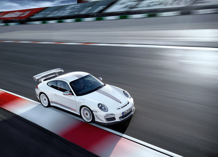 The GT3 RS 4.0 has lapped the Nürburgring faster than the V10-powered Carrera GT. Photo courtesy Porsche