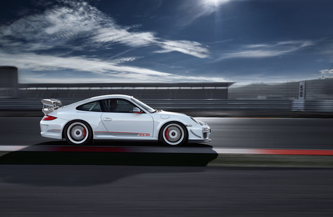 Front fenders are made of carbon fiber. Photo courtesy Porsche